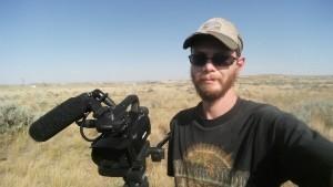 Filming near Gillette, WY